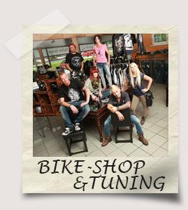 Bike-Shop und Tuning